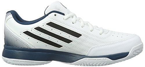 adidas Herren Sonic Attack Tennisschuhe Weiß (Ftwr White/Core Black/Mineral)