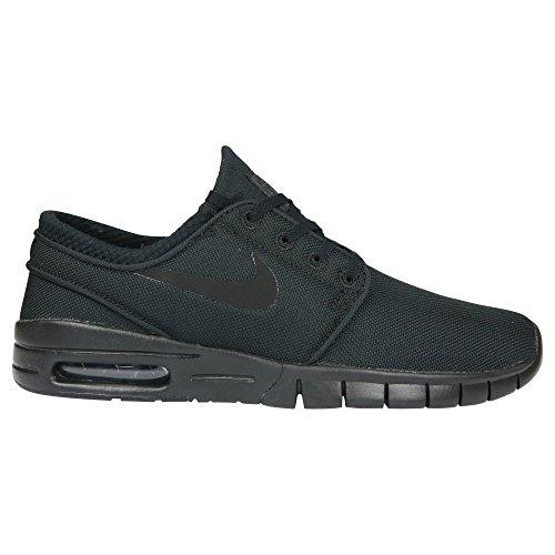 Nike Men's Stefan Janoski Max Black/Black/Anthracite/BlackSneakers - 6 D(M) US (Janoski Max Black Wolf Grey Flash Lime)
