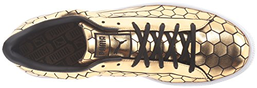 Metallic Basket Sneaker Puma Classic Fashion Men's Gold qCwtp18