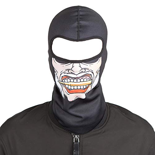 Smdoxi Bicycle Sports Scarf bib Windproof mask Outdoor Sunscreen Headband Cosplay ()