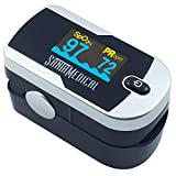 Santamedical Generation 2 Fingertip Pulse Oximeter Oximetry Blood Oxygen Saturation Monitor with Batteries