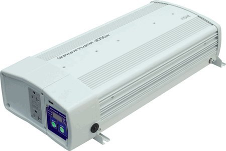 KISAE 3000 Watt Pure Sine Wave Power Inverter with Transfer Switch