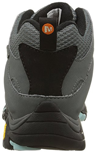 Rise Women's High Mid Hiking Sedona Moab Merrell Shoes Gore Tex Sage Grey xZwgqAYd