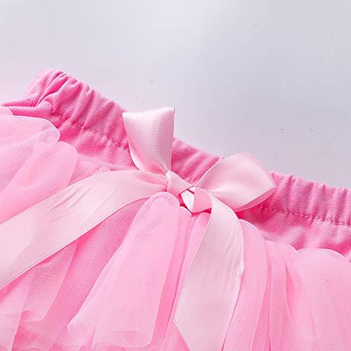Anbaby Baby Girls Soft Tutu Skirt Toddler Ruffled Pants ...