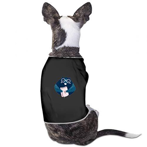 XUGGL Dog Pajama Shorts Bear Clip Art Forest Animal Tank Top Soft Cotton Cotton Dog - Clipart Bears