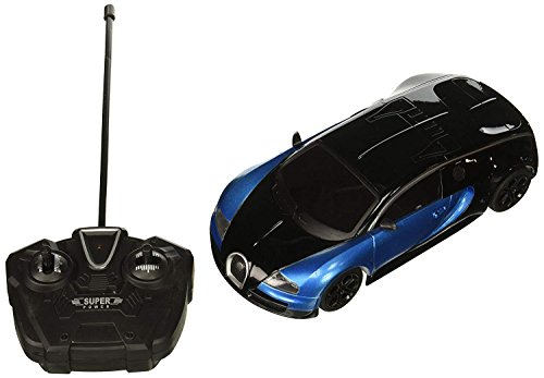Electric Metal Full Function Diecast 1:24 Bugatti Veyron Grand Sport RTR RC Car Remote Control w/ Rechargeable Batteries (Colors May Vary)