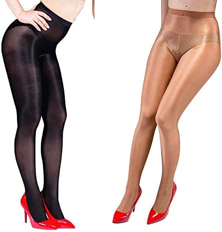 Beenoo Shimmery Thickness Pantyhose Stocking