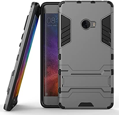 uk availability f5626 2c8b6 Xiaomi Mi Note 2 Hybrid Case, Xiaomi Mi Note 2 Shockproof Case, Dual Layer  Protection Hybrid Rugged Case Hard Shell Cover with Kickstand for 5.7'' ...