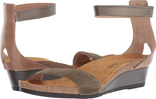 ily Olive Suede/Arizona Tan Leather/Pewter Leather 37 M EU ()