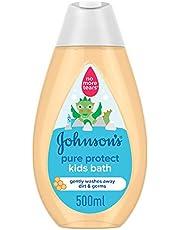 سائل استحمام بيور بروتكت للاطفال من جونسون، 500 مل