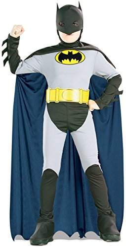 Batman Classic Halloween Costume Children-USA Size 4-6 (Ages (4 Halloween Costumes)