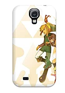 Fashionable Style Case Cover Skin For Galaxy S4- Zelda