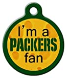 Packers Fan – Custom Pet ID Tag for Dogs and Cats – Dog Tag Art – LARGE SIZE, My Pet Supplies