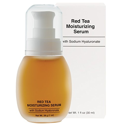 Antioxidant Red Tea Serum - Jolie Red Tea Moisturizing Serum W/ Sodium Hyaluronate 1 oz.