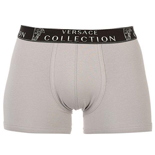 Versace Collection Men's Stretch Cotton Medusa Boxer Briefs (XXL, - Men Versace Collection