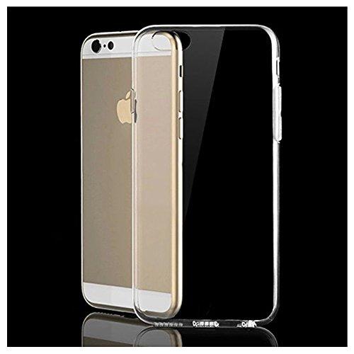 Handy Abdeckung - SODIAL(R)Ultraduenne Kristall Gummi Weiche Abdeckung fuer iPhone 6S