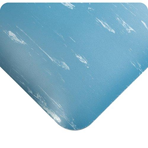 Wearwell 419.78x3x3AMBL UltraSoft Tile-Top AM Mat, 3' Len...