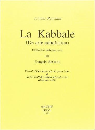 La Kabbale (de Arte Cabalistica)
