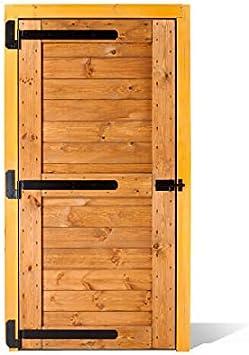 ESTRUCMADER - Puerta portón de Madera de una Hoja de 115x210cm Mod ...