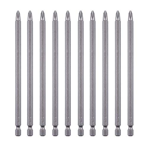 Long Screwdriver Tip - Rocaris 10 Pack 2 x 6