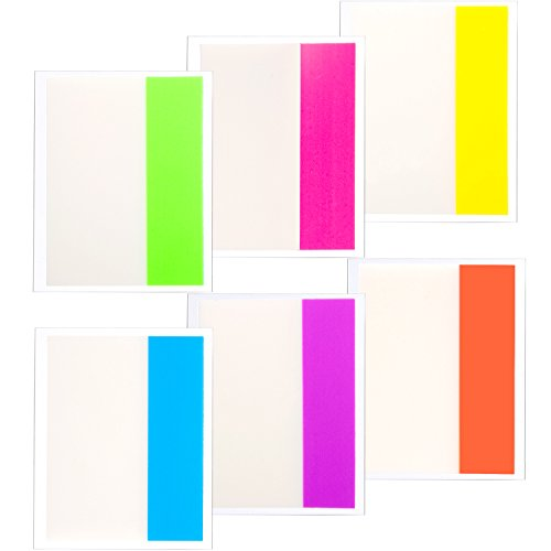 - Patelai Sticky Notes Tabs Index Tabs Page Markers 2-Inch Wide, 6 Colors, Writable, Durable, Repositionable, Removes Cleanly, Sticks Securely (120)