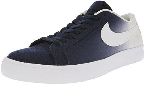 NIKE Men's Sb Blazer Vapor Obsidian/White Ankle-High Canvas Skateboarding Shoe - 11M ()