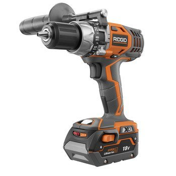 Ridgid ZRR8611501K 18V Cordless Hyper-Lithium X4 1/2 in. Hammer Drill Kit (Certified...