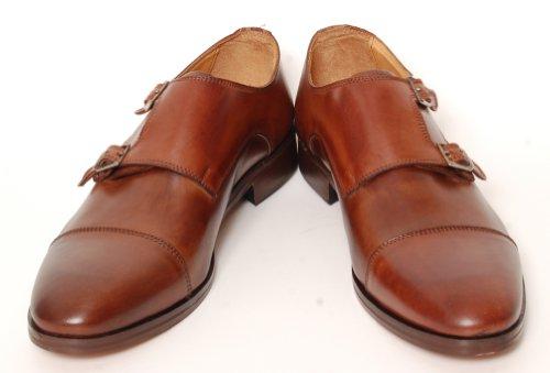 Antica Calzoleria Campana Schuh | Mod. 9509 | Kalbsleder | Monkstrap | dunkelbraun | Größe 44