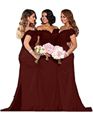 Fanciest Womens Lace Bridesmaid Dresses Long 2017 Formal Mermaid Maid of Honor Gowns