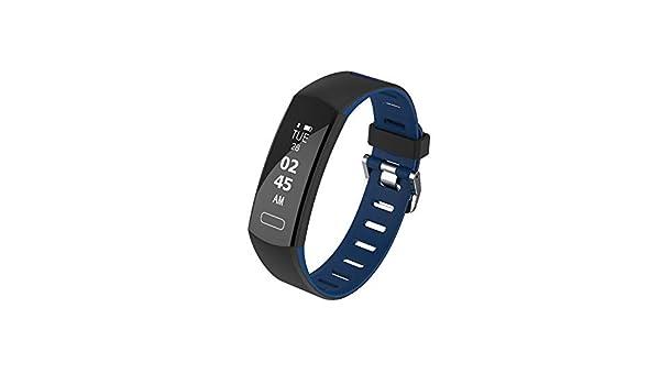 Cebbay Pulsera Actividad,Pulsera Inteligente Podómetro,Cronómetros,Despertador,Cámara Control Impermeable IP67 Reloj Inteligente para iOS y Android: ...