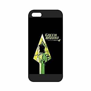iPhone 5s Case, Comic Green Arrow Design Durable Hardshell Back Case Cover for Iphone 5 5s