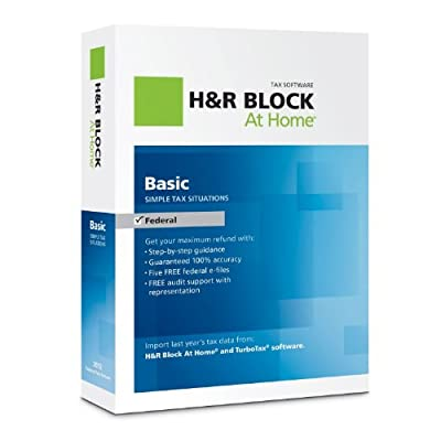 H&R Block At Home 2012 Basic + State