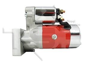 amazon com tsp sb bb chevy mini starter motor red tilton style tsp sb bb chevy mini starter motor red tilton style jm7001r