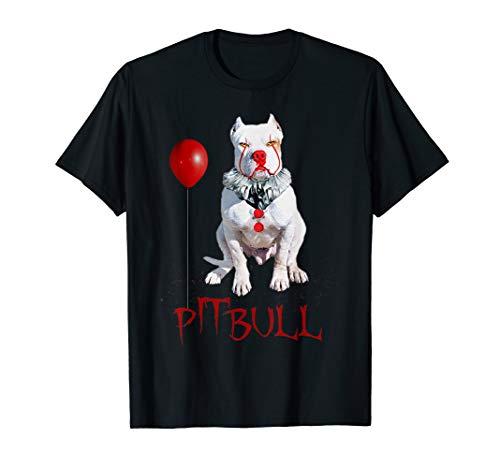 (Pitbull Dog Halloween Tshirt)