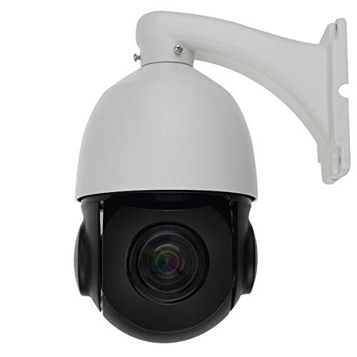 2MP PTZ IP Camera 20X Optical Pan and Tilt with Waterproo...