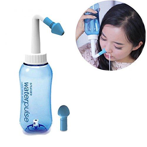 Nasal Wash - Sistema de riego para riego alérgico (para adultos y niños, 500 ml) Waterpulse