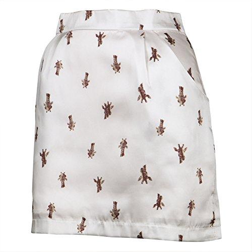 Giraffe Print Women's Pocket Skirt - Small (Giraffe Print Skirt)
