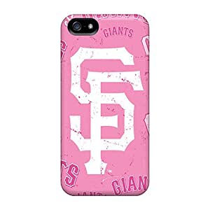 Iphone 5/5s SaC9004Nofc Unique Design High Resolution San Francisco Giants Pattern Shock Absorption Hard Cell-phone Cases -Marycase88