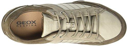 Geox U Snake B, Men's Low-Top Sneakers Beige (C1b1s)