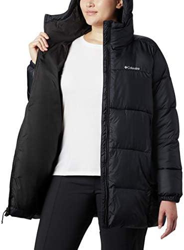 Columbia Women's Puffect Mid Hooded Jacket Coat