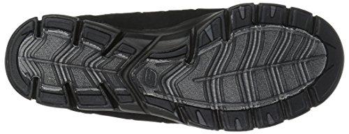 para Mujer Cordones sin Heart Skechers Negro Gratis Black Zapatillas Light HWwA6fnqZ