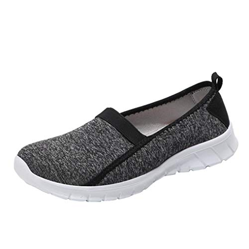 Boomboom Autumn Women Soft Sole Slip-on Breathable Casual Sport Lazy Shoes