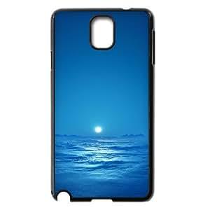 Samsung Galaxy Note 3 Case, Blue Sky Sea Bright Moon Case for Samsung Galaxy Note 3 Black lmn317565120