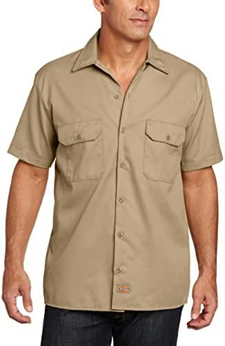 Dickies Men's Big-Tall Short-Sleeve Work Shirt