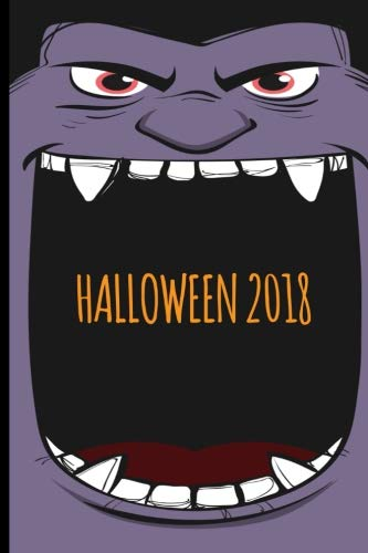 Halloween 2018: Vampire Cover Blank, Wide Ruled Journal for Kids. Great Halloween Party favor and Trick or Treat giveaway. (Composition Book, 100 Pages, 6x9 -
