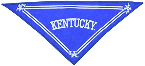 Collegiate Kentucky Wildcats Pet Bandana, Small - Dog Bandana must-have for Birthdays, Parties, Sports Games etc.