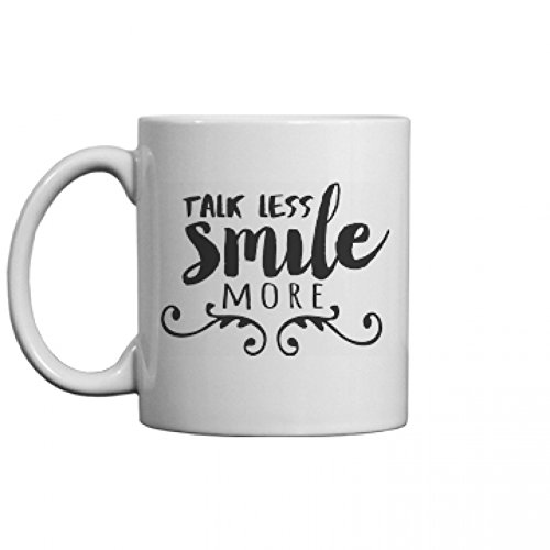 Amazon.com: Hamilton Talk Less Mug: 11oz Ceramic Coffee Mug ...