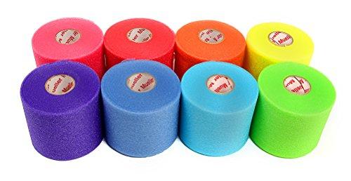 Mueller Rainbow Sports Pre Wrap colors product image