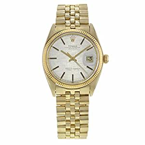 Rolex Datejust automatic-self-wind mens Watch 1603 (Certified Pre-owned)
