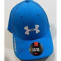 b54c94dbeb1 Jordan Spieth Signed Under Armour Golf Hat w COA 2015 Masters U.S. Open -  Autographed